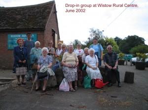 Group at Wistow Garden Centre