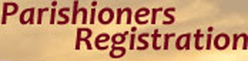Parishioners' Registration