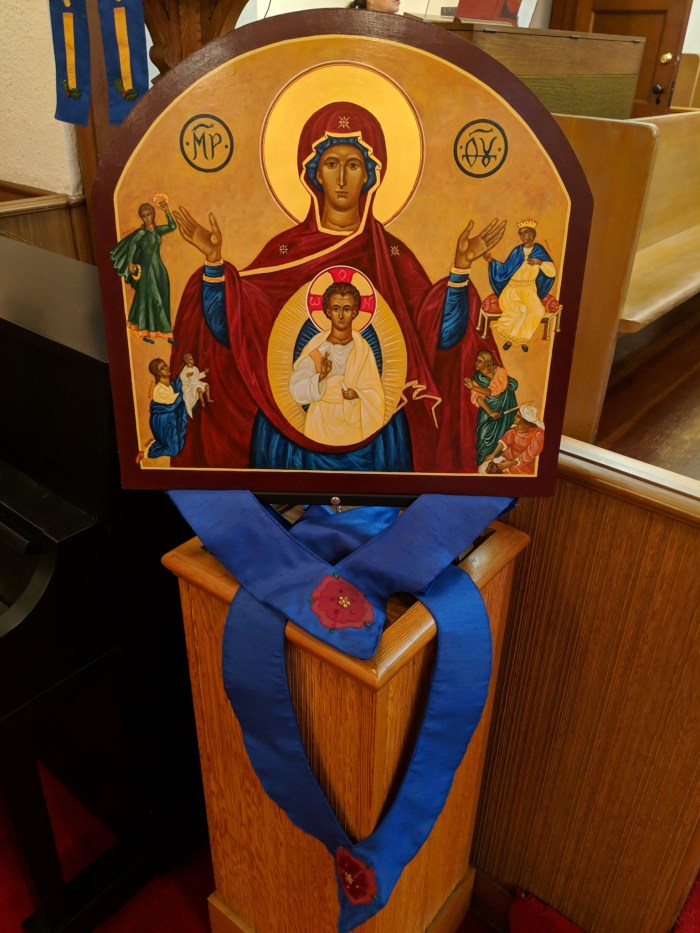 Icon of the Virgin of the Sign