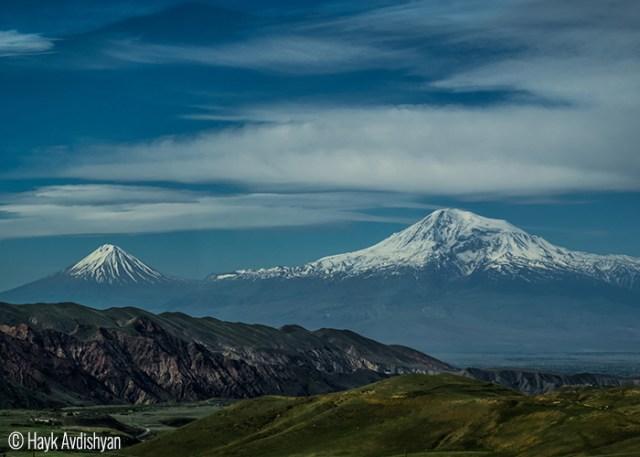 Hayk Avdishyan (Ashtarak, Armenia). Mount Ararat.