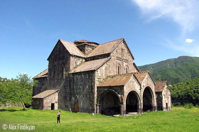 Alex Findikyan (Istanbul, Turkey, continuing life in motherland.). Akhtala Monastery.