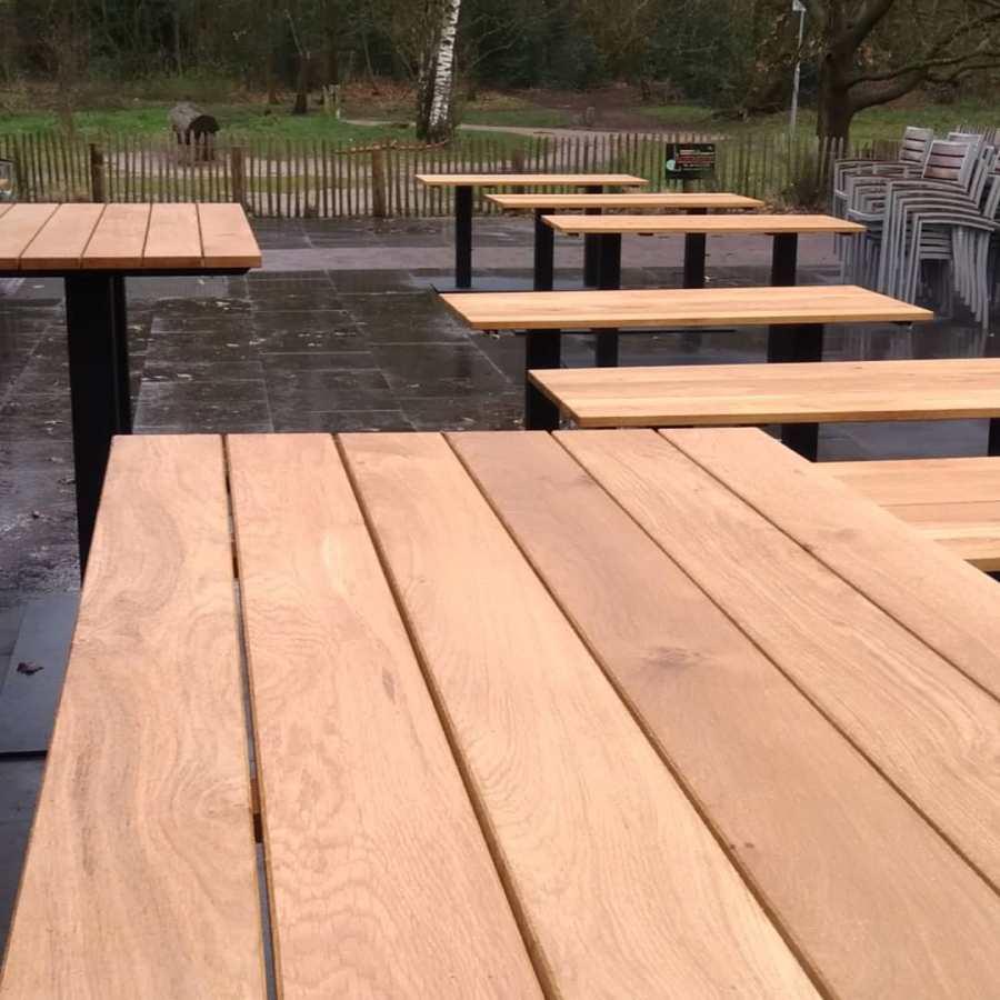 Maatwerk terrastafels - STRAEL Productontwerp Utrecht