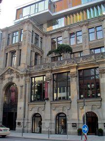 Hohe Bleichen 17, Kontorhaus, Hypothekenbank, Wulff, Restaurant, Christian W.