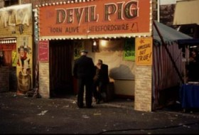 The Devil Pig stall from the 1960s