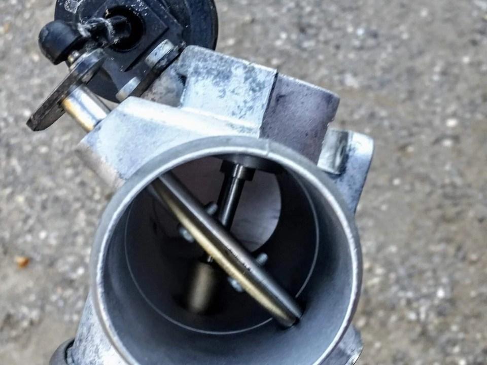 Sodastrahlen AGR-Ventil