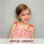 ruffled sundress