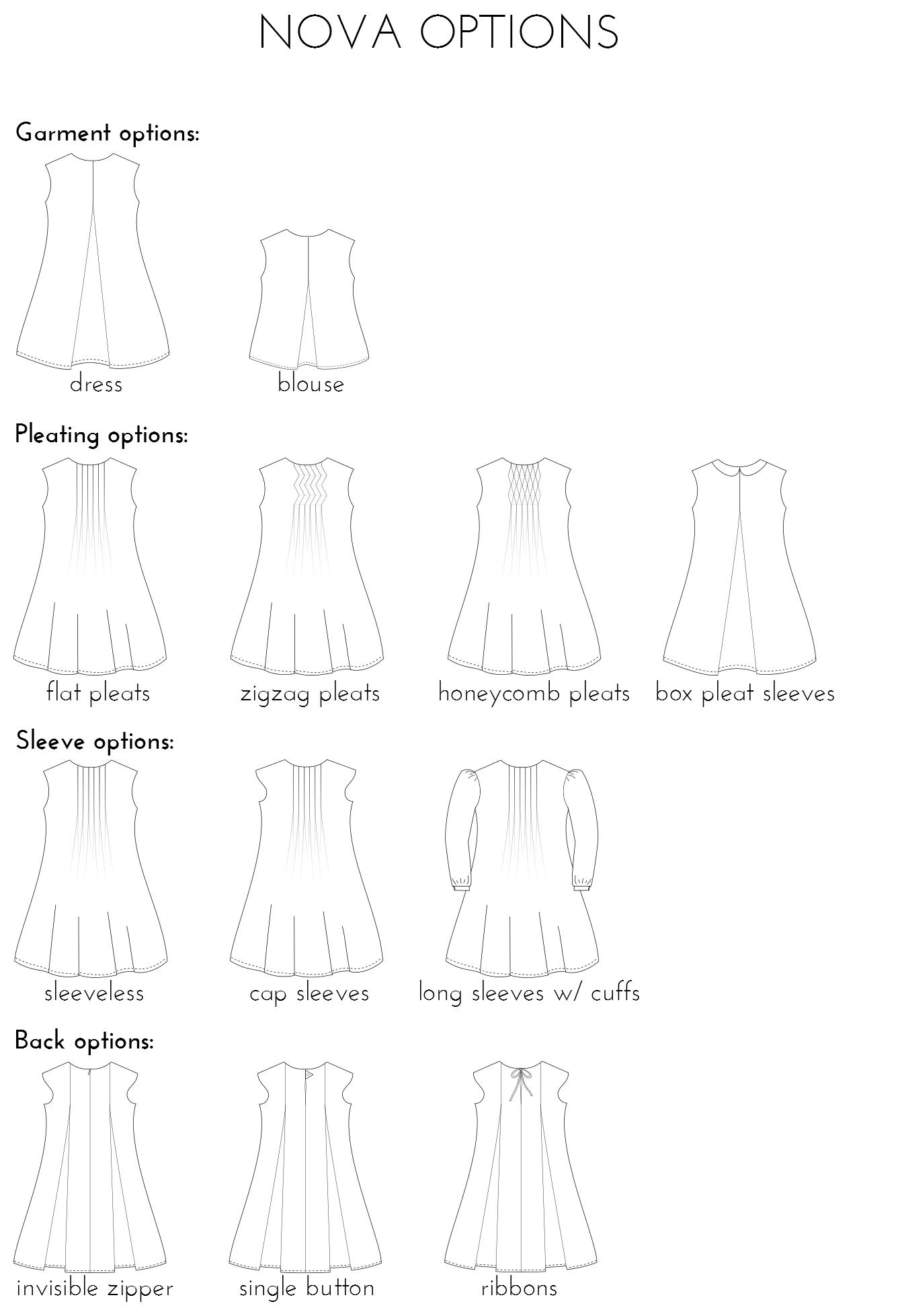 Nova papieren patroon (Nederlands)