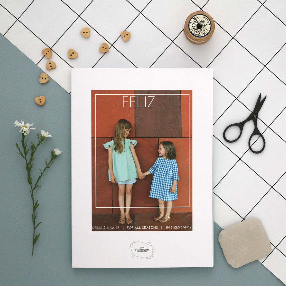 (Paper) pattern launch: Feliz!