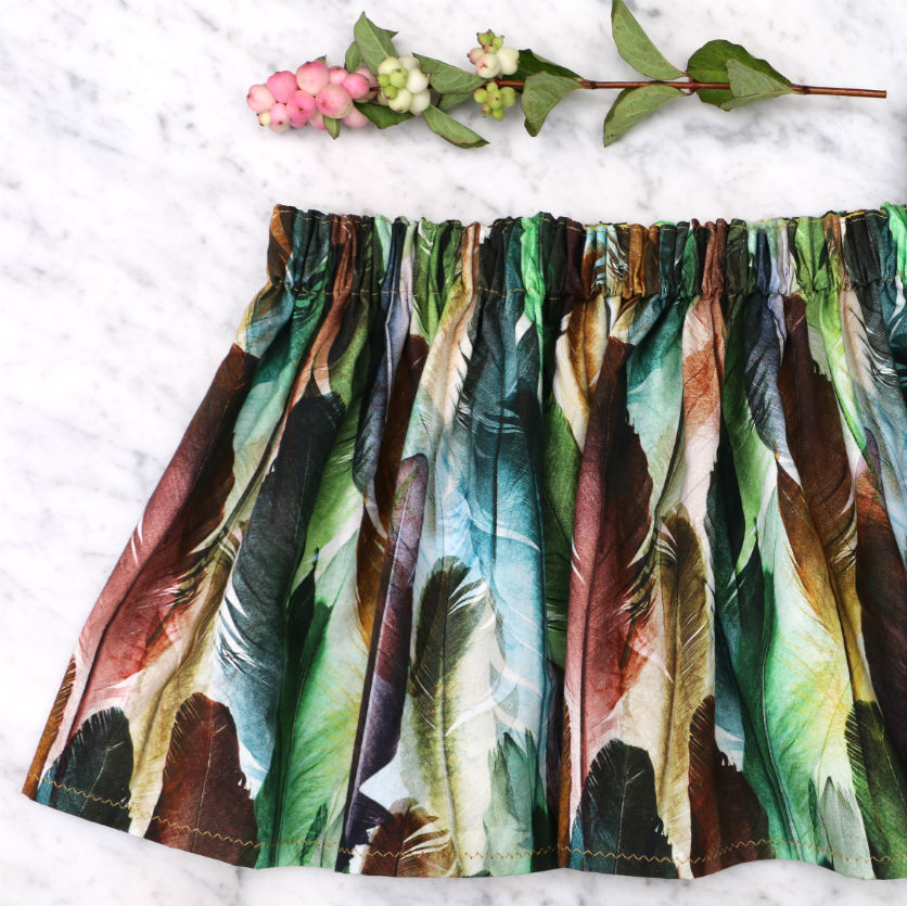 Tutorial: Super simple skirt