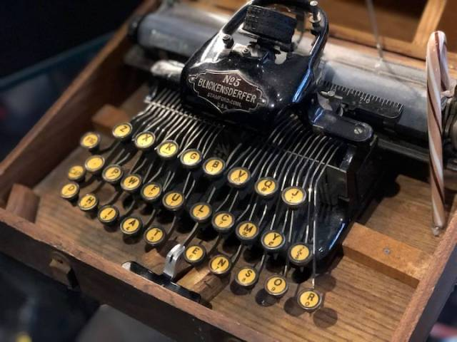 Portland's Hotel Duniway was named after suffragist and author AbilgailScott Duniway, the owner of the first free press in Oregon, whose typewriter is on display.