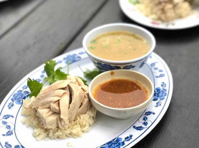 Nong's Khao Man Gai (a popular Thai dish) is the stuff of legend.