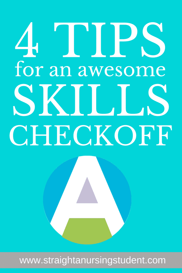 Must-have tips for rocking your skills checkoffs!