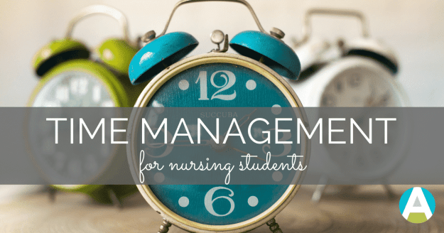 Get awesome nursing school time management tips that actually work!