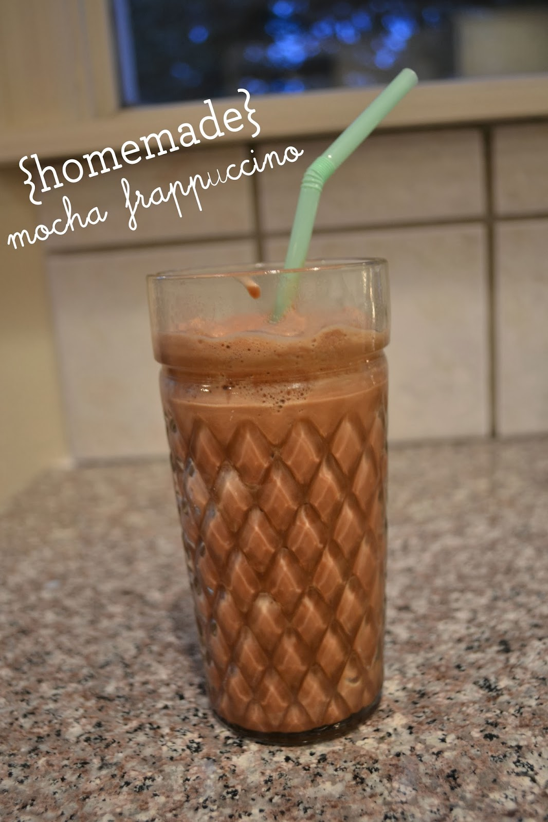 Smoothies and blended iced coffee came to mind. I have tried to make blended coffee numerous times without much success…until now!
