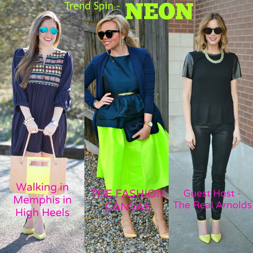 Neon Accents + Trend Spin Link Up - Straight A Style 59735f7cd17