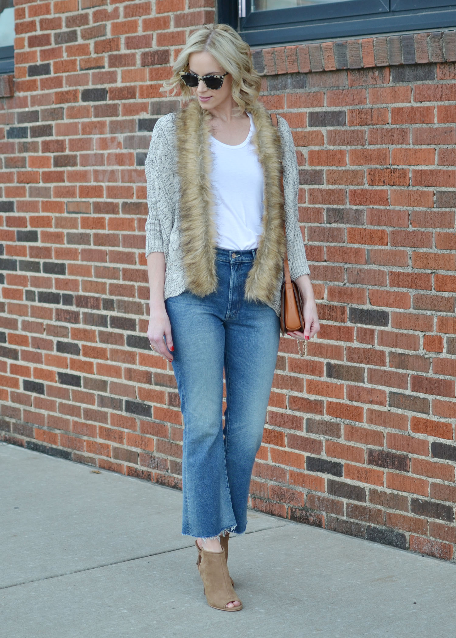 Sweater with the Fur - Straight A Style