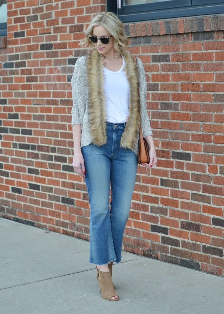spring's hottest denim trends, culotte jean, straight leg jean, mom jean, distressed jeans, boyfriend jeans, cropped flare jeans, flare jeans