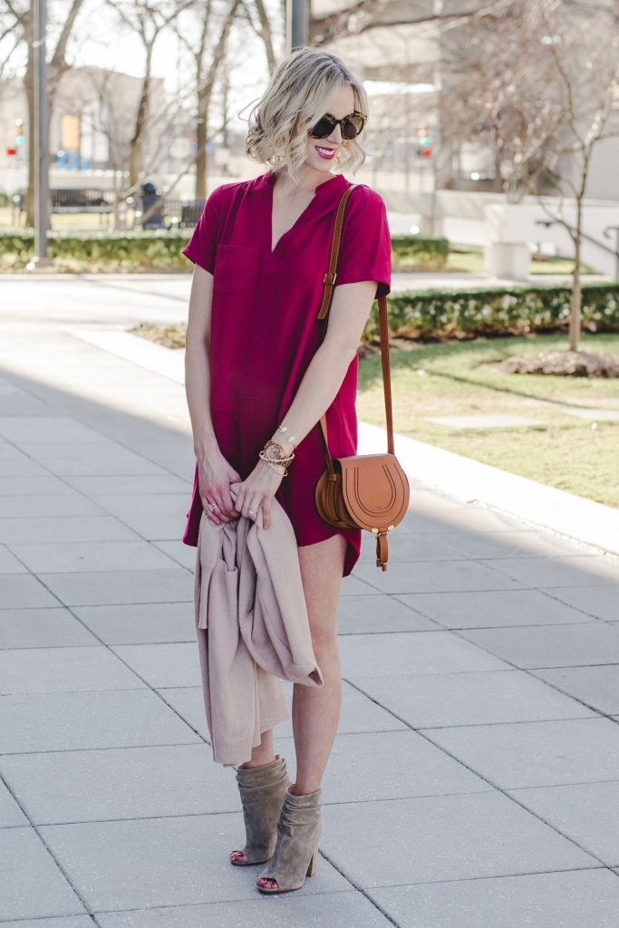 easy to wear and versatile dress