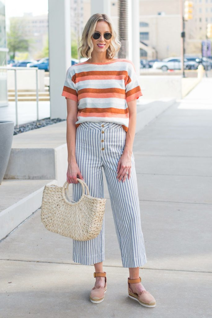 what shoes to wear with culottes