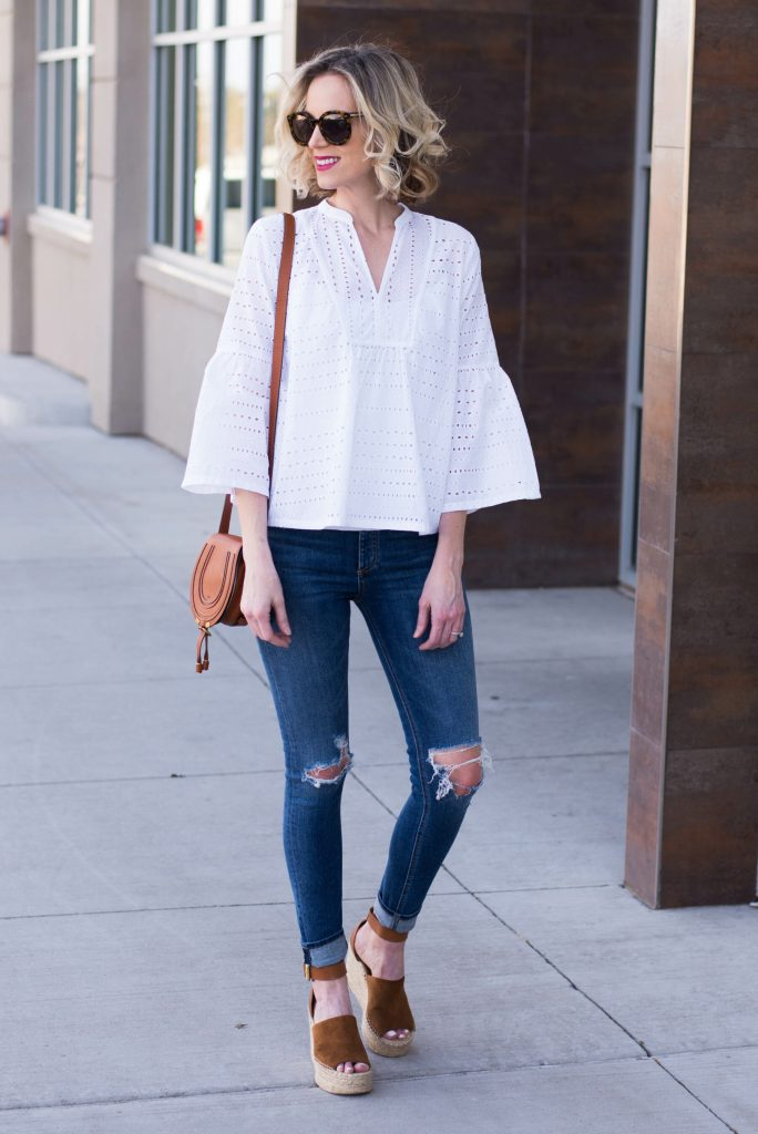 how to wear eyelet
