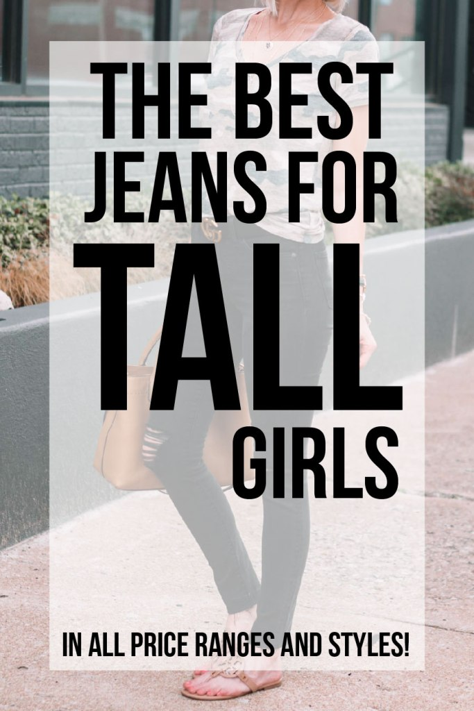 the best jeans for tall girls - options in all price ranges and styles
