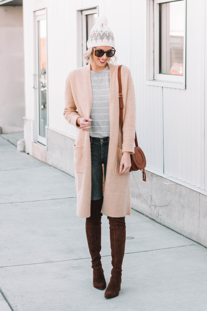 neutral fall layered look
