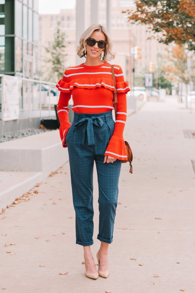 chic fall work outfit idea