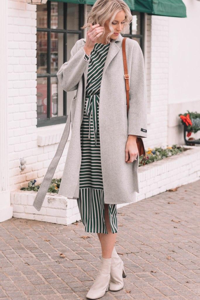 Classic Cashmere Wool Coat over dress