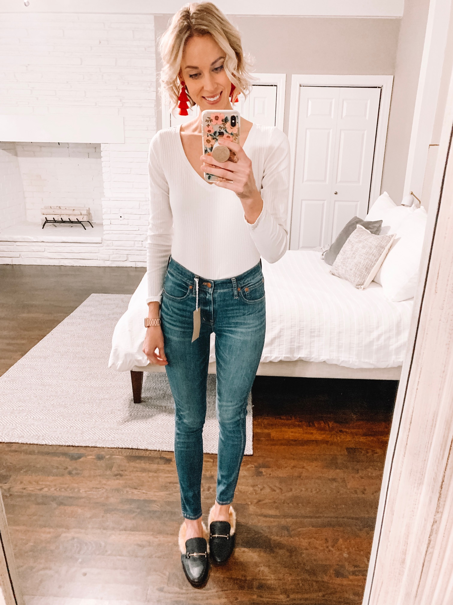 The Best High Waisted Skinny Jeans Straight A Style