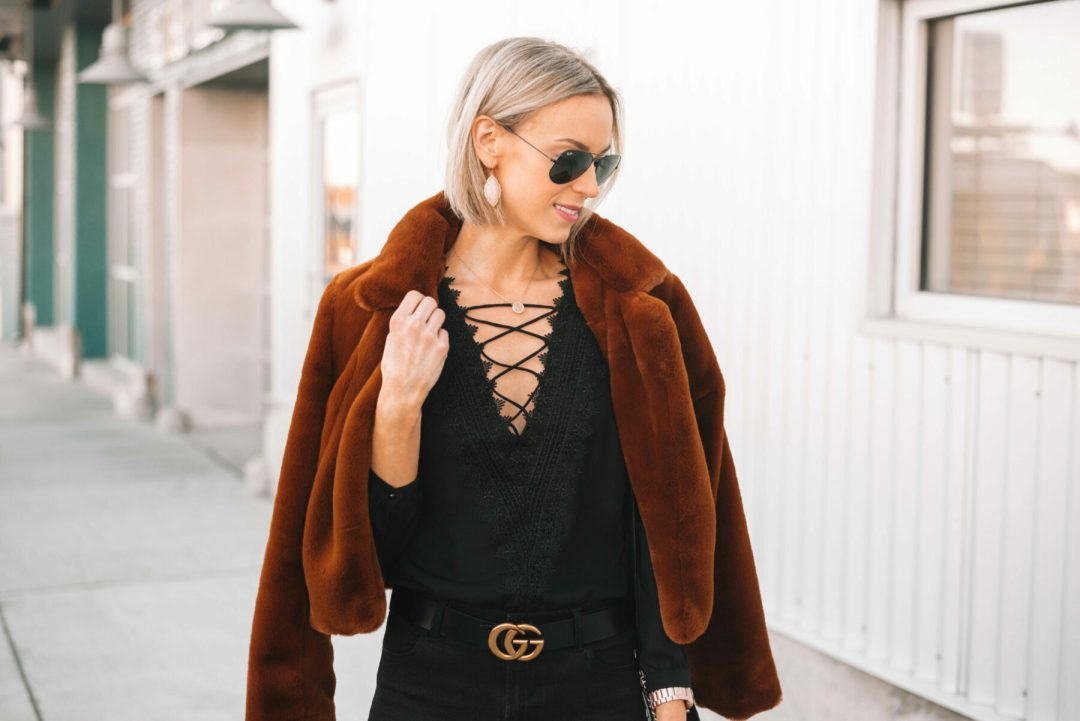 81fd60a7b967 All Black Dressy Date Night Look - Straight A Style
