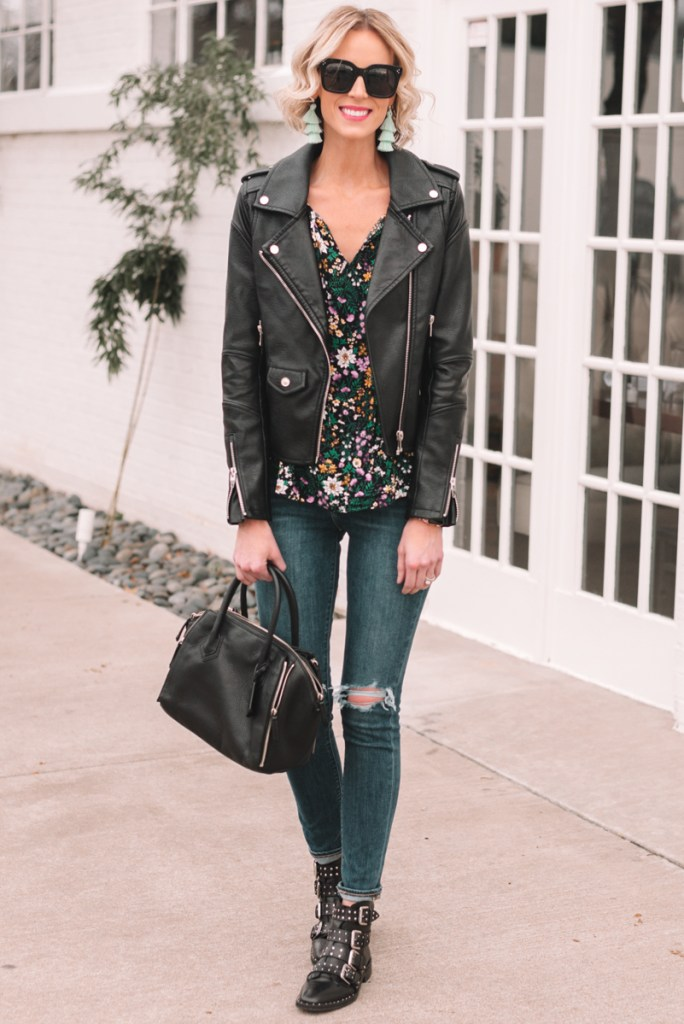what to wear for spring, blog post with spring outfit ideas, spring jackets