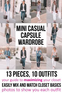 mini casual capsule wardrobe