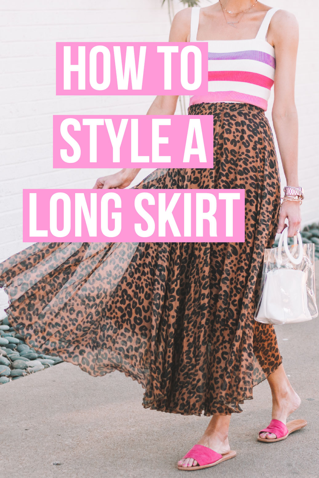 b564da5834 How to Style Long Skirts - Midi or Maxi - Straight A Style
