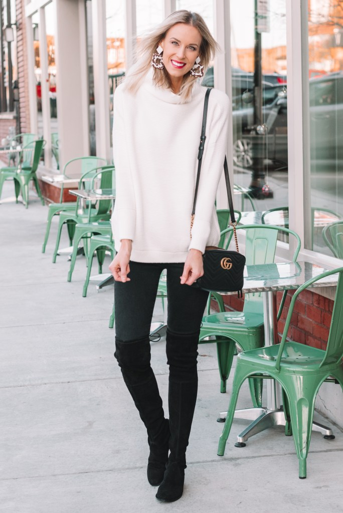 tunic sweater outfit ideas