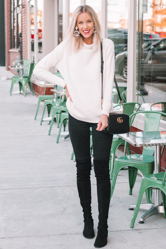 Free People tunic sweater dupe just $48, white tunic sweater