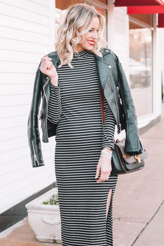 fitted dress for pregnancy, long sleeved dress