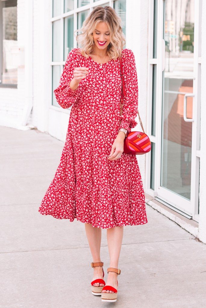 personalized Mother's Day gifts, flowy maternity dress