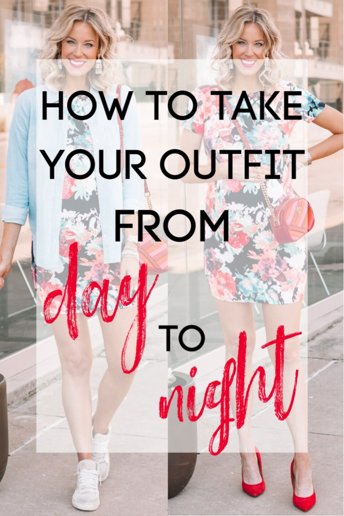 Ever wondered how to take your outfit from day to night? Here are some easy tips starting with picking the right base layer.