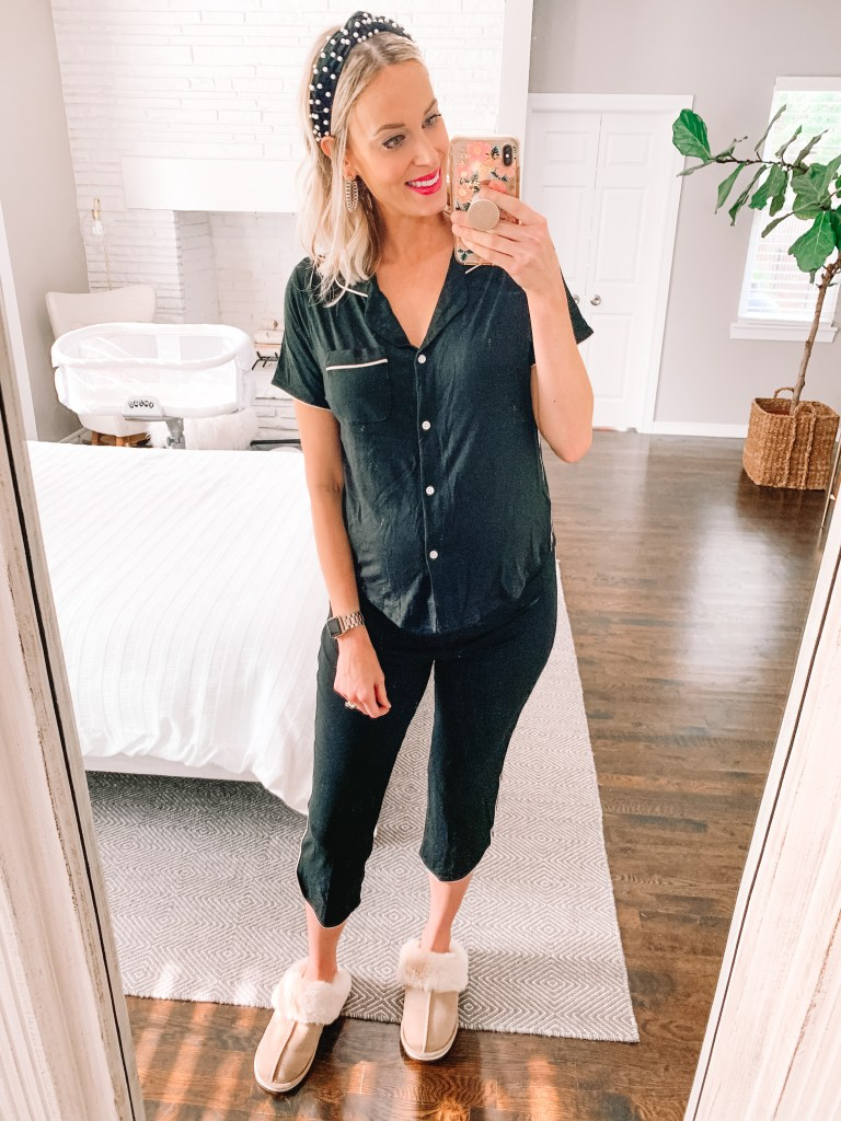 Looking for the best affordable pajamas that also happen to be nursing friendly pajamas? I've got you covered with a full review of cute pajama sets and gowns.