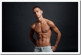 straight guy nude