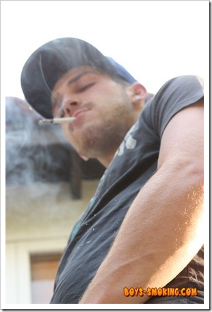 boys smoking - Gorgeous and rugged chainsmoking twink Austin Ried (11)
