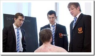 brutal tops - Sixth Form school bullies and their Teacher brutally cane sub josh (5)