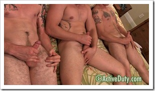 active duty - straight army guys threesome (19)