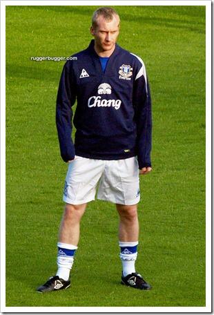 English footballer Tony Hibbert changing out  (6)
