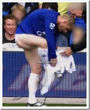 English footballer Tony Hibbert changing out  (7)