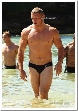 English rugby league player Thomas Burgess (9)