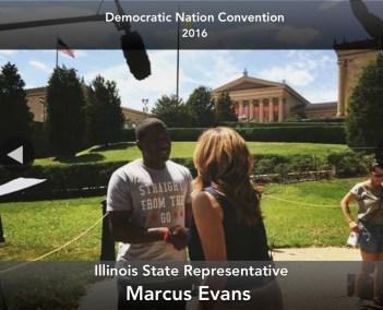ILL State Rep Marcus Evans DNC 2016