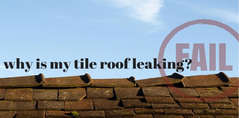 tile roof repair 101 straightline