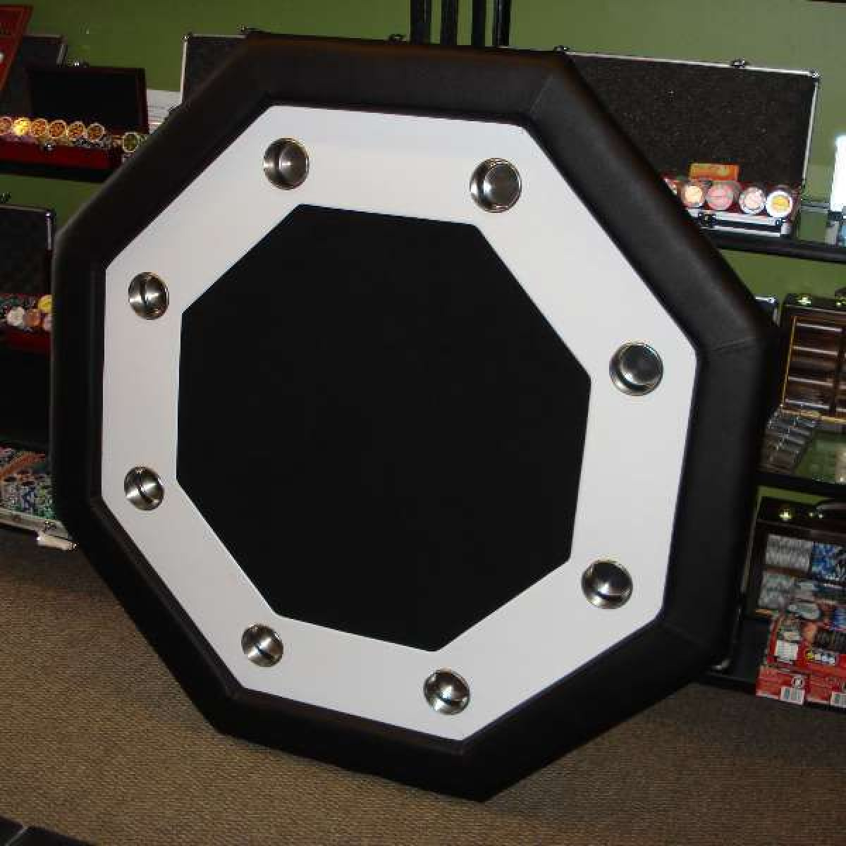 Octagon Poker Table Poker Tables Straight Poker Supplies