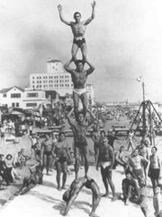 Pyramid from 'Remembering Muscle Beach' by Harold Zinkin